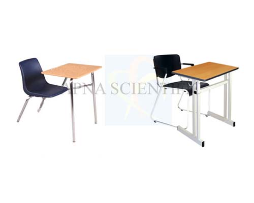 Classroom Furniture- Chairs-Chair with writingpad