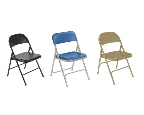 Classroom Furniture- Chairs-Folding Steel Chair